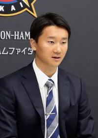 日ハム宮台、770万円で更改 東大出身、51年ぶりに先発
