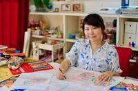 紅型作家のクラウドファンディング 1日で目標額40万円達成 沖縄タイムス「Link‐U」