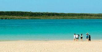 沖縄の海(資料写真=2014年10月)