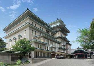 帝国ホテルが2026年春に京都・祇園で開業を目指す高級ホテルのイメージ