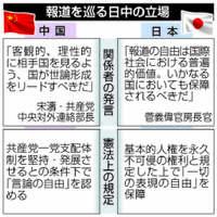 【深掘り】中国共産党、日本にメディア指導迫る 習政権批判に不満 自公は抗議せず、拍手も