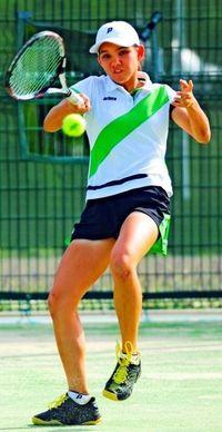 和歌山国体:テニスのリュー・下地組が決勝進出