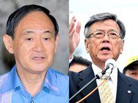 「信念の強い人」翁長知事を悼む 菅官房長官、辺野古推進は変わらず