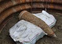 「ドンッ」沖縄戦の不発弾、民家敷地で爆破処理 住民7時間避難