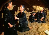 [記憶紡いで 戦後73年]/チビチリガマの悲劇再現/ミュージアムにジオラマ 読谷村にあす開所