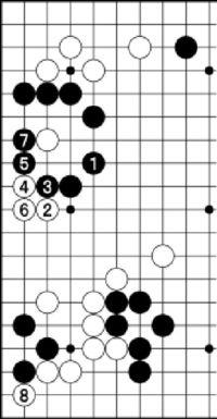 [第43期・碁聖戦]/本戦1回戦 第13局/第3譜/(42〜58)