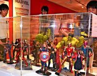 アイアンマンやX-MEN…人気ヒーローの魅力たっぷり 沖縄で待望の「マーベル展」