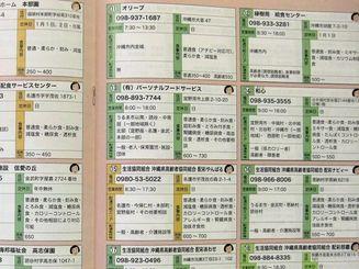 県内の宅配弁当店マップ