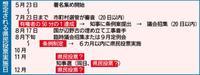 沖縄県民投票「知事選後に」の声 関係者、複数スケジュール想定