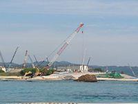 沖縄防衛局、辺野古「N3」工事停止を拒否 県の通知に「十分に協議」