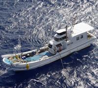 外国船の違法操業を監視中…船長が行方不明に 沖縄・久米島沖