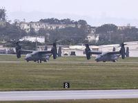 米軍CV22、横田から嘉手納に4機飛来 「定期的な現地訓練」と発表