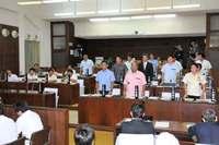石垣市議会、辺野古賛否問う県民投票条例案に反対 沖縄県内で初