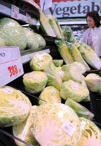 給食のデザート減らし野菜確保… 沖縄でも高騰、レタス1玉1300円