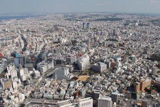 (資料写真)空から見た沖縄