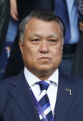 日本サッカー協会の田嶋幸三会長