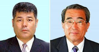 久田浩也氏(左)と喜屋武治樹氏