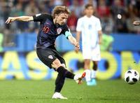アルゼンチン0―3クロアチア 後半の3得点で快勝