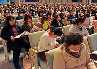 「目標 整理し共有を」/県保育研究大会開幕 米須さん講演
