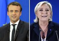 マクロン、ルペン氏決選投票へ 中道と極右、仏大統領選