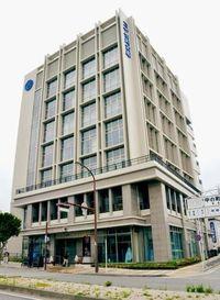 コザ信金の新本店ビル完成 災害時は避難場所に 沖縄市