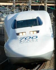 3月8日に東海道新幹線での営業運転を終える「700系」(JR東海提供)