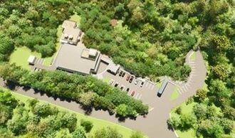 新しく道の駅に登録された「やんばるパイナップルの丘 安波」のイメージ(沖縄総合事務局提供)