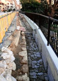 首里の旧水路遺構、埋め戻し 沖縄県は保存・工法見直しも検討