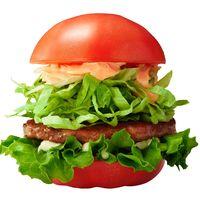 豊見城産トマトでモスバーガー/来月10日から 本島内21店舗で