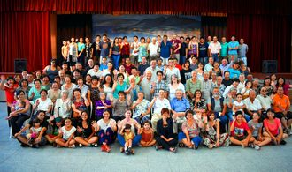 新年会を催した名護市民会