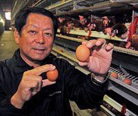 父の卵が産む娘のケーキ/養鶏業基に事業拡大/食の大会で最優秀/南城・南風原