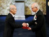 吉野彰さんにノーベル化学賞授与 リチウムイオン電池開発