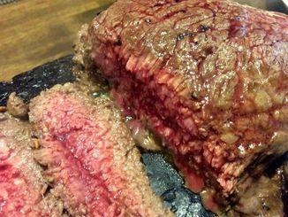 200グラムのステーキが千円=那覇市松山・やっぱりステーキ