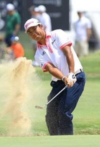 米男子ゴルフ、松山29位に後退 第3日