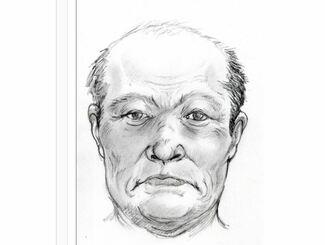 沖縄県警のHPで公開している復元した顔のイメージ画像