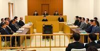翁長知事「司法の使命果たして」 岩礁破砕差し止め訴訟結審 弁護団、漁業権触れぬ国を批判