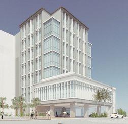 建て替え後の那覇商工会議所ビルの完成イメージ図(提供)