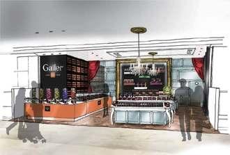 ココスアイランドオキナワが博多大丸福岡天神店に出店するガレーの店舗イメージ(同社提供)