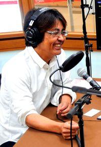 ラジオでぬくもり伝える/荷川取さん「地域に恩返し」/ハートFMなんじょう開局