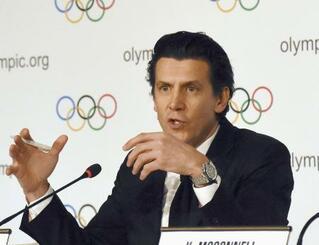 IOCのデュビ五輪統括部長=2019年12月