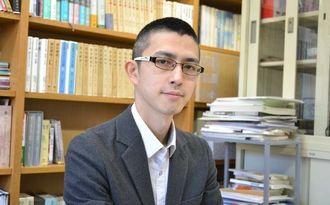 憲法学者の木村草太さん=2015年1月、東京都内