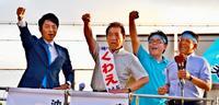 「大差」の裏側 2018年沖縄市長選(上)名護の戦略参考、演説後に投票所へ流れる仕組み