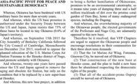 米退役軍人団体VFPの「辺野古新基地建設反対決議」全文