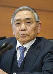 日銀の黒田東彦総裁