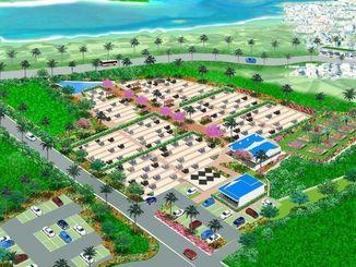 「宮古島メモリアルパーク」の完成予想図
