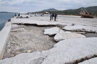 国の建設強行できしみ 業者「町を訴えるかも」 沖縄・本部