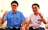 琉銀、台湾に職員派遣/崎山主任 県内企業の進出支援