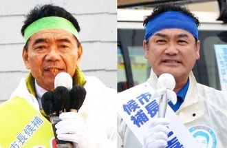 志村恵一郎氏(左) 佐喜真淳氏(右)