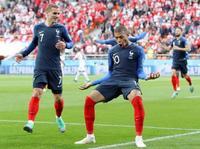 フランス1―0ペルー フランスが1点守る