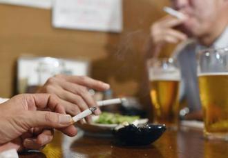 飲食店での喫煙=東京都内
